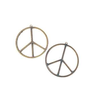 Peace Bronze Charms