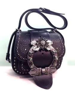 Miu Miu Madras Dahlia 皮革手袋 Size : 寬19 x 高15 x 長7 cm Real and New 可免費陪同到專門店驗貨
