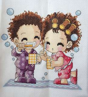 Cross Stitch Bath