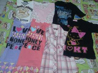 Repriced!!! 7 Tops Branded for only P550