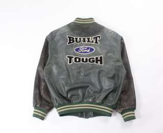 Vintage Roots Ford Leather Bomber