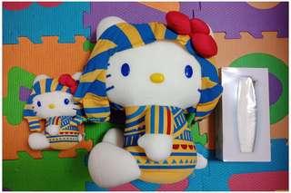 Rare Egyptian Hello Kitty Stufftoys