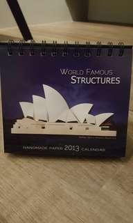 ☆ BNIP - Handmade Paper Calendar 2013
