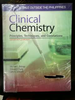 Clinical Chemistry 7th Edition by Bishop