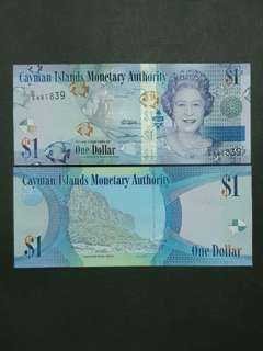 Cayman Islands 1 Dollar 🇵🇳 !!!