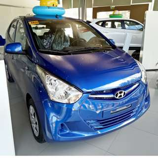 2018 Hyundai Eon GLX with AVN