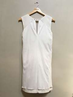 White Studded Dress • S-M
