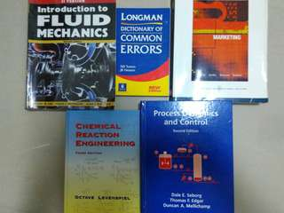 Textbooks chemical engineering