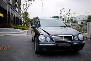 00 賓士 E240 V6 一手美車
