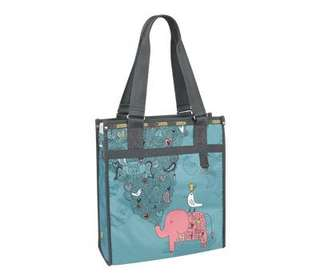 LeSportSac tote bag Artist in Residence collection