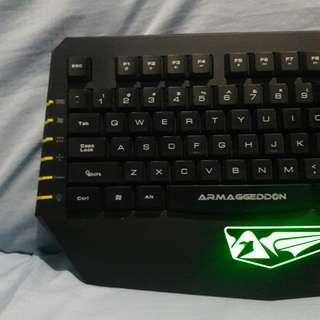 Armaggedon Kalashnikov Gaming Keyboard