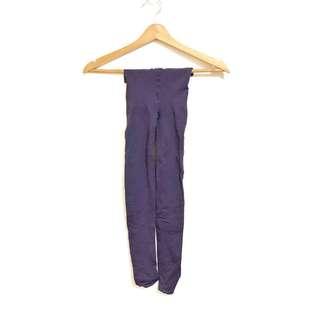 Purple Stockings