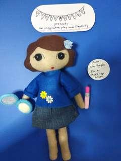 Handmade Story Dolls : Kayla, Make-up Artist