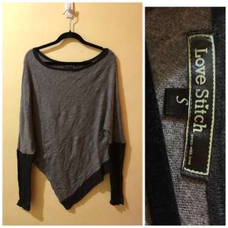 Poncho Type Pullover