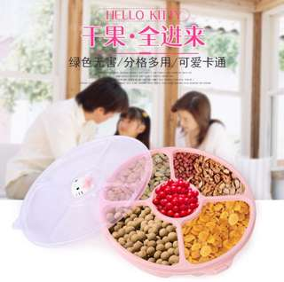 Food storage box hello kitty with cover