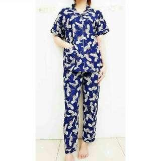 GROSIR Pajamas Katun Jepang CP Bangau