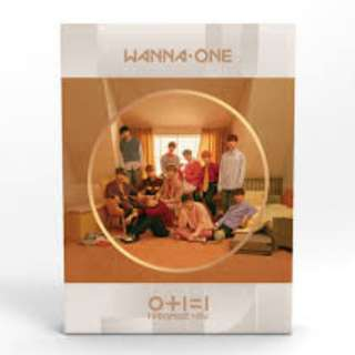 ONHAND SEALED ALBUM WANNA ONE I PROMISE YOU DAY VERSION