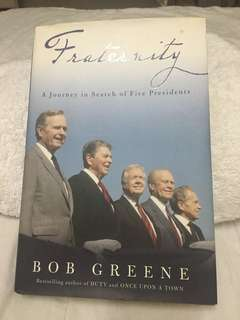 Fraternity by Bob Greene