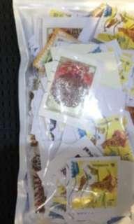 Preloved used stamps
