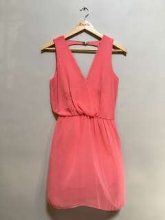 Zara Vneck Dress • S-M