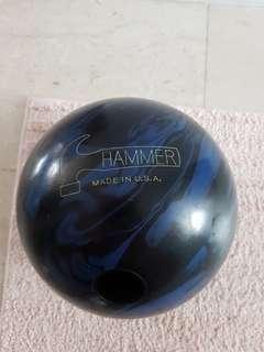 14 lbs Hammer Bowling ball