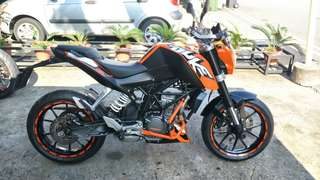 Pre-owned KTM 200 DUKE ABS (2013) for sale!!!