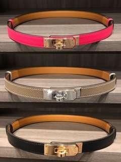 Hermes kelly Belt
