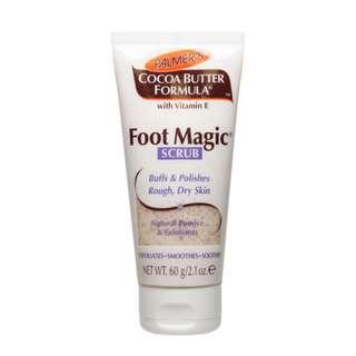Palmer's Cocoa Butter Formula Foot Magic Scrub 60g with Vitamin E Made in USA