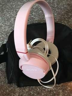 Sony HeadBand Pink