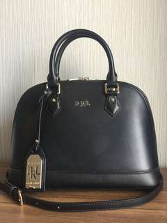 Polo Ralph Lauren Leather Hand Bag
