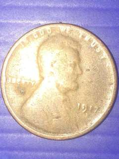 USA 1 Cent Y1917
