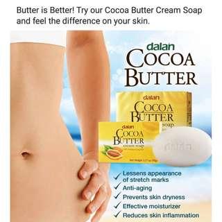 DALAN CREAM SOAP SHEA BUTTER