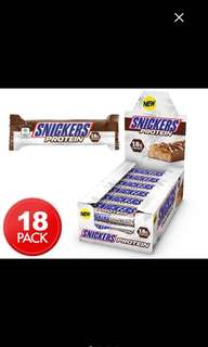 PROTEIN SNICKERS Box of 18