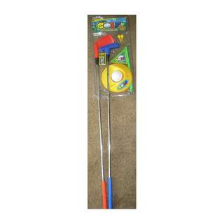 PRE-ORDER: Castle Toys Youth Metal Golf Set (7 Piece)