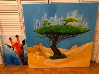 KIDS ROOM Art - both for $30