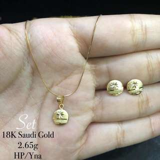 18K SD JEWELRY SET