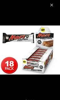 PROTEIN MARS BOX 18