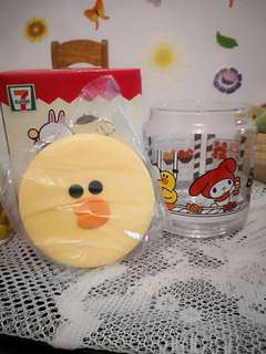 Limited Glass Container~line friend~Sally