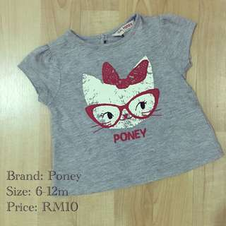 Preloved Poney Top