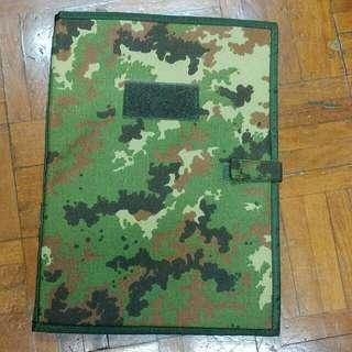 軍用文件夾 迷彩文件夾 Folder