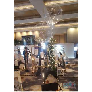 🚚 Round Helium Led Balloons