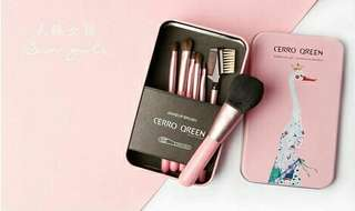 Cerro Qreen Makeup Brush Set isi 7