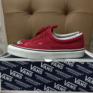 Vans vault og era lx undercover lab red sz 42.5 us 9.5