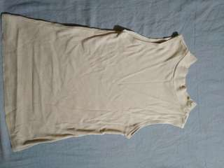 Pre-loved turtleneck halter top