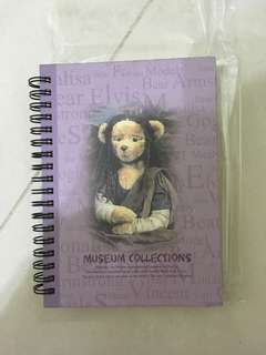 Notebook from Teddy Bear Museum Korea