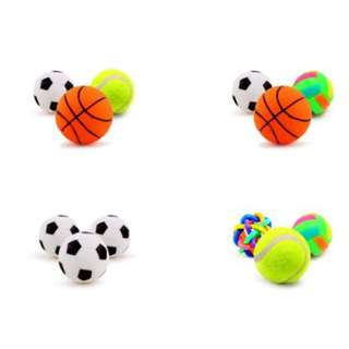 🚚 Set of 3 Squeaky Toys