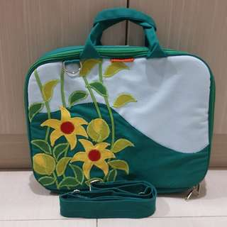 "Handmade 12"" Laptop Bag Tosca"