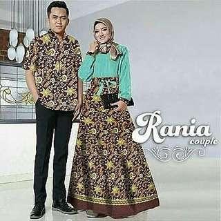 💞Pengiriman Surabaya💞 CP raniya Mint Rp178.000  maxi busui bahan baloteli kombi katun batik. LD 102cm. kemeja full kancing LD 120,slimfit.