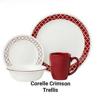 Perfect Gift Item: Corelle Crimson Trellis