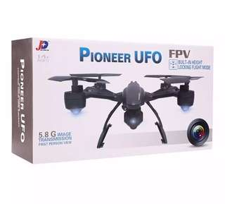 JXD 509G 5.8G Pioneer UFO FPV Drone with 2.0MP HD Real-time Aerial Camera RC Quadcopter